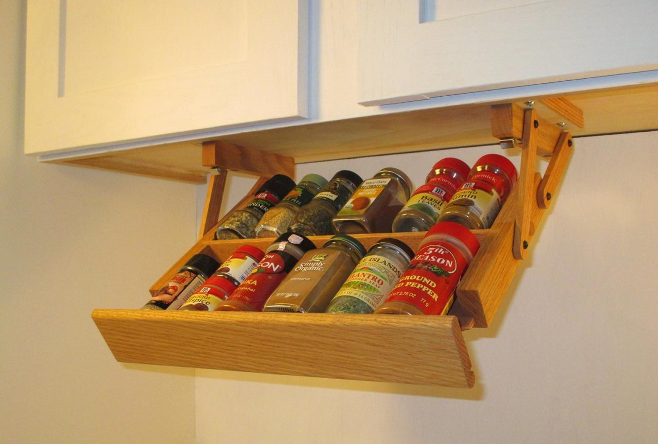 Kitchen Spice Rack Ultimate Kitchen Storage Under Cabinet Mini Spice Rack Kitchen
